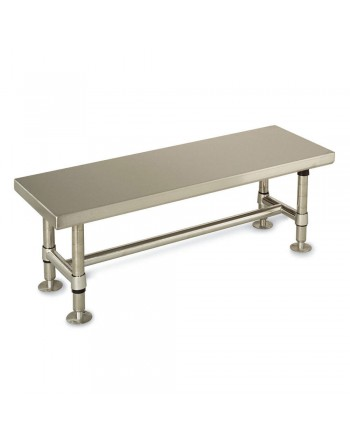 Gowning Bench, Stainless Steel