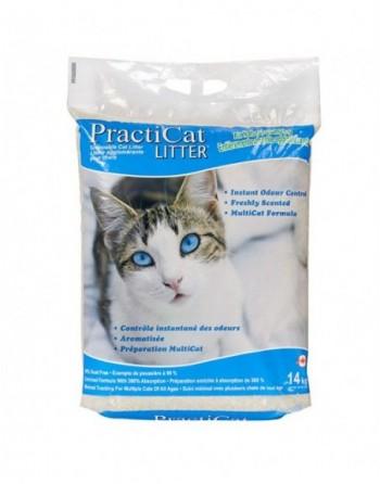 Kitty Litter, Practicat, 14 KG Bag, Order by Pallet, 80 Bags