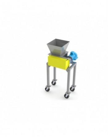 Medical Plant Waste Shredder, 100lb/hr