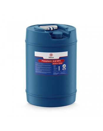 Phosphoric Acid, Drum, 35%, Food Grade, Kosher, 243kg