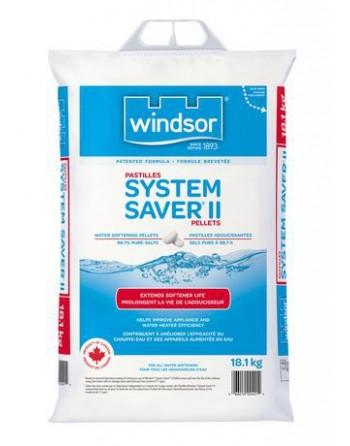System Saver® II Water Softener Salt Pellets, 40 lbs. (18.1 kg), Bag