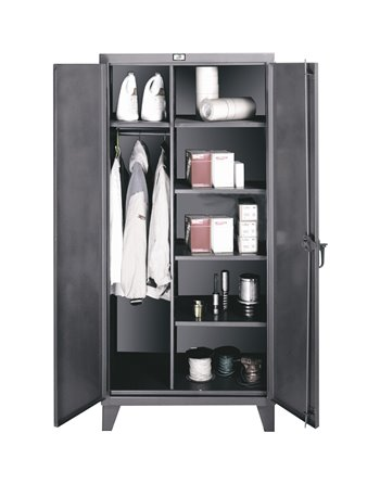 Stainless Steel Storage Wardrobe Cabinet, GMP