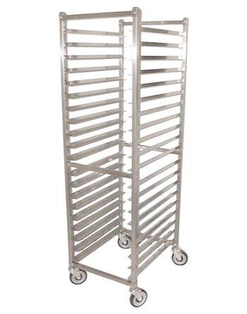 """Stainless Steel Bun Pan Rack, 20 Slot, 3"""" Space"""