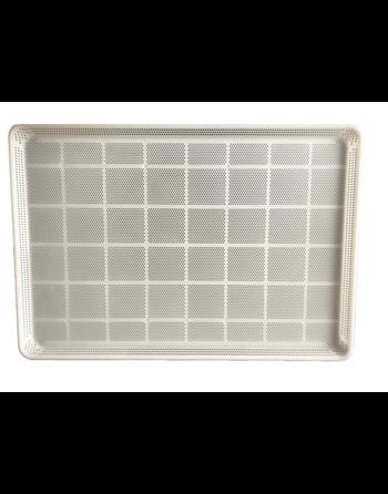 "Plastic Perforated Bun Pan Tray, 18"" x 26"""