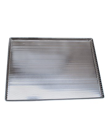 """Stainless Steel Perforated Bun Pan Tray, 18"""" x 26"""""""