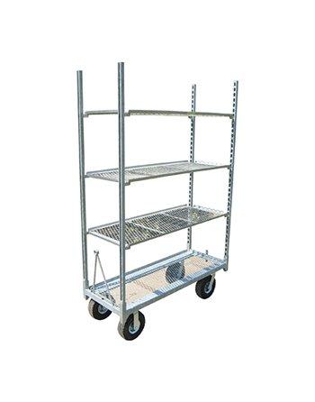 Galvanized Budget Cart