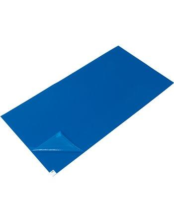 Clean Room Tacky Matting, 1.57 Mil Thick, Polyethylene