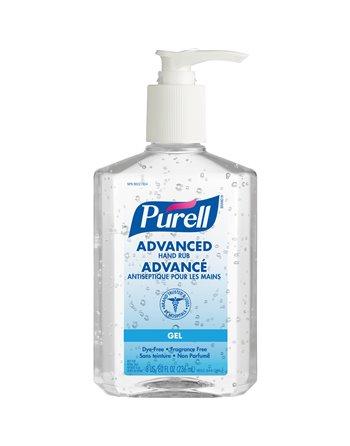 Purell Advanced Hand Sanitizer, 236 ml, Pump Bottle, 70% Alcohol