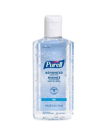 Purell Advanced Hand Sanitizer Gel, 118 ml, Squeeze Bottle, 70% Alcohol