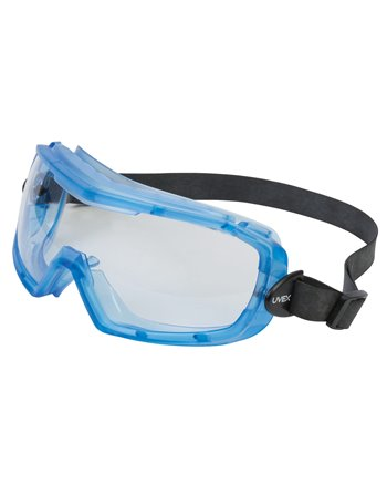 Uvex® Entity Safety Goggles, Clear Tint, Anti-Fog, Neoprene Band