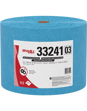 """WypAll® Oil, Grease & Ink Cloth, Specialty, 13-2/5"""" L x 9-4/5"""" W"""