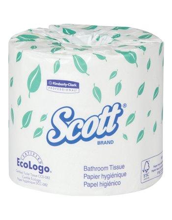 Scott® Bathroom Tissue, 550 Sheets/Roll