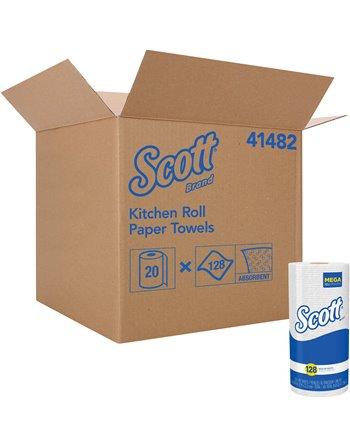 Scott® Kitchen Roll Towels, 1 Ply, Standard, 85' L