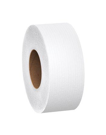 Scott® JRT Jr. Toilet Paper, Jumbo Roll, 1 Ply, 1000' Length, White