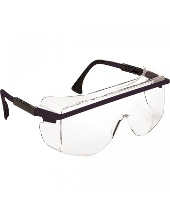 Uvex® Astro OTG® 3001 Safety Glasses, Clear Lens, Anti-Scratch Coating, CSA Z94.3