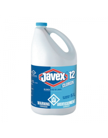 Javex 12% Commercial Solutions, 5L x 3