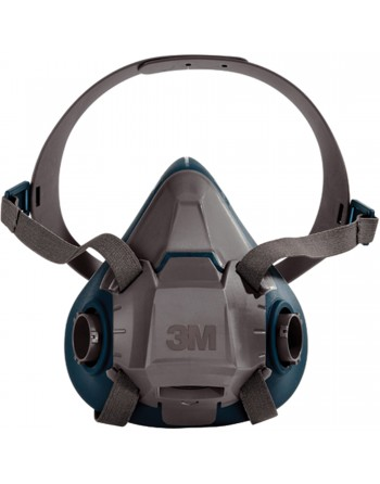 3M 6500 Series Half Facepiece Respirator, Silicone