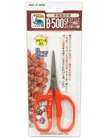 Chikamasa B-500sf Stainless Steel Scissors w/ Fluorine Coating (Resin-resistant)