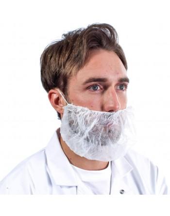 Beard Cover, Beard Net, Polypropylene, 1000/Case