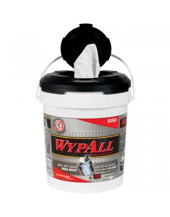 Wipers in a Bucket, Heavy-Duty, 440 Sheets