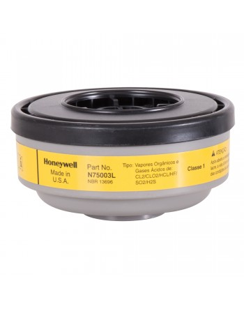 HONEYWELLNorth®N Series Respirator Cartridges, Gas/Vapour Cartridge, Organic Vapour/Acid Gas
